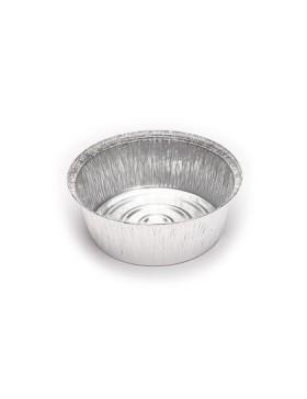 Envases de aluminio para pollos redondo