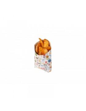 """Empaquetado de patatas fritas con el sello """"Enjoy"""""""