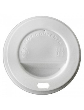 Tapa vaso blanco 12-16OZ 90 mm